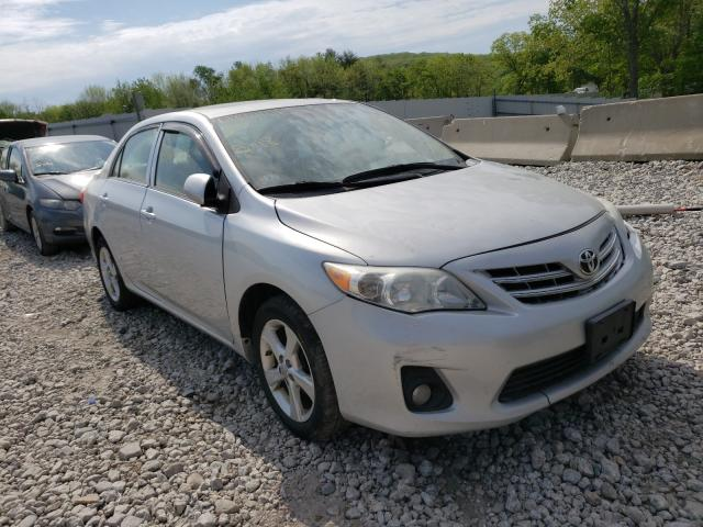 Salvage cars for sale from Copart West Warren, MA: 2013 Toyota Corolla BA