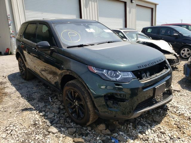 Salvage 2017 LAND ROVER DISCOVERY - Small image. Lot 44391001