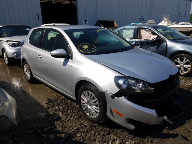Salvage cars for sale from Copart Windsor, NJ: 2012 Volkswagen Golf