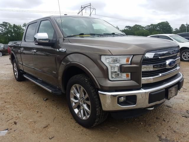 Salvage cars for sale from Copart Greenwell Springs, LA: 2016 Ford F150 Super