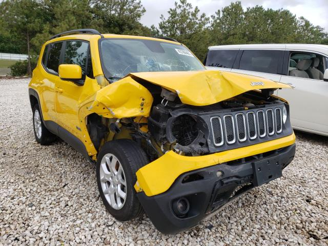 Jeep salvage cars for sale: 2015 Jeep Renegade L