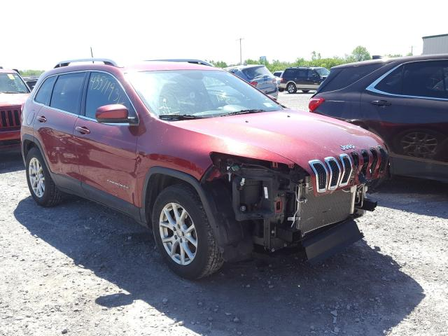 Salvage cars for sale from Copart Leroy, NY: 2017 Jeep Cherokee L