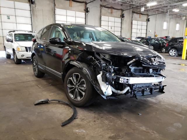 Salvage cars for sale from Copart Blaine, MN: 2020 Honda CR-V