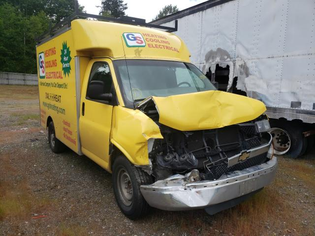 Salvage cars for sale from Copart Arlington, WA: 2013 Chevrolet G3500 Expr