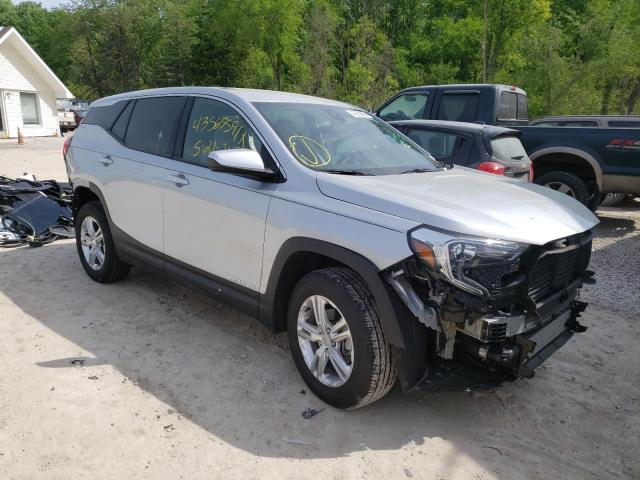 Salvage cars for sale from Copart Northfield, OH: 2020 GMC Terrain SL