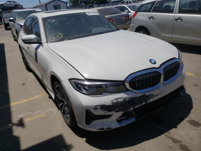 BMW salvage cars for sale: 2019 BMW 330I