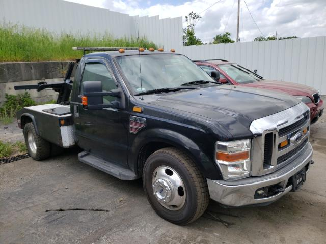 Salvage cars for sale from Copart Marlboro, NY: 2008 Ford F350 Super