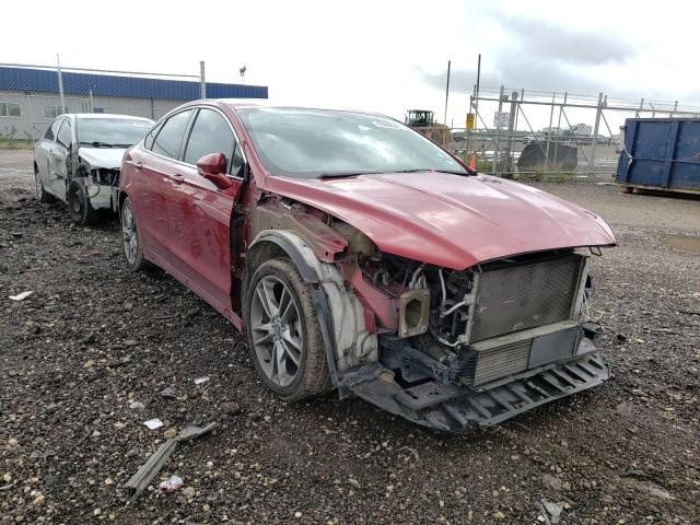 Salvage cars for sale from Copart Houston, TX: 2013 Ford Fusion Titanium
