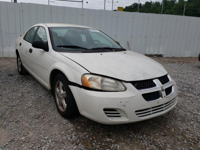 Salvage cars for sale from Copart Hurricane, WV: 2004 Dodge Stratus SE