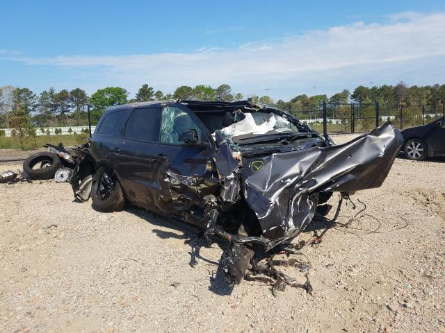 Salvage cars for sale at Brookhaven, NY auction: 2021 Dodge Durango GT