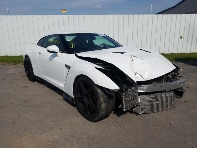 Salvage cars for sale from Copart Central Square, NY: 2009 Nissan GT-R Base