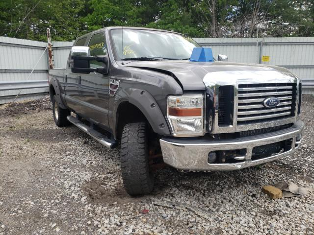 Salvage cars for sale from Copart North Billerica, MA: 2008 Ford F250 Super