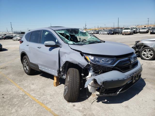 Honda Vehiculos salvage en venta: 2021 Honda CR-V EX