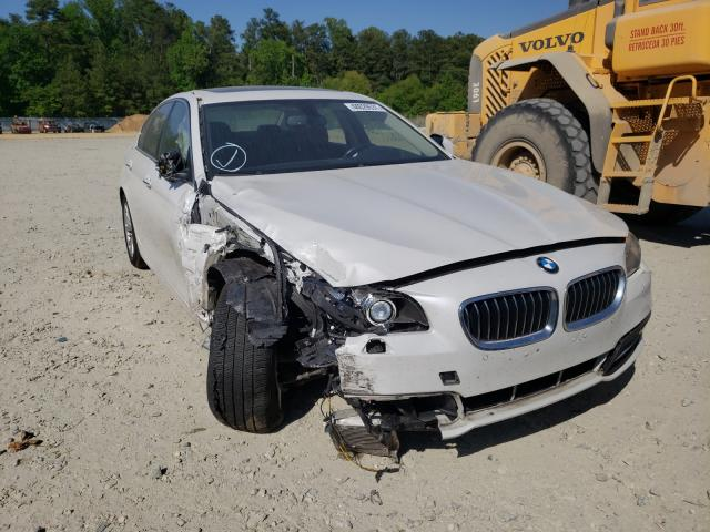 Salvage cars for sale from Copart Seaford, DE: 2015 BMW 528 XI