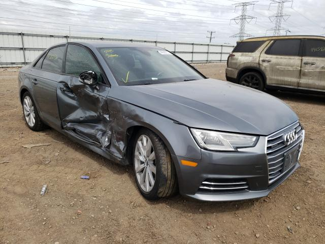 Salvage cars for sale from Copart Elgin, IL: 2017 Audi A4 Premium