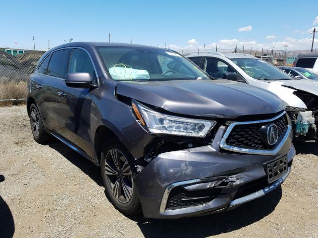 Salvage cars for sale from Copart San Martin, CA: 2018 Acura MDX