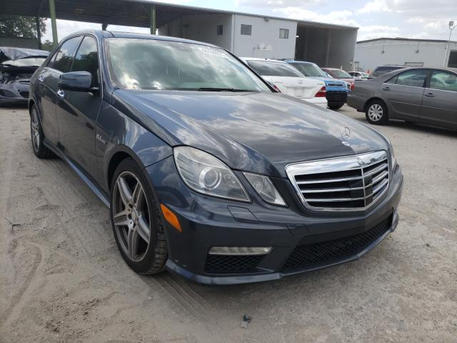 Salvage cars for sale from Copart Riverview, FL: 2010 Mercedes-Benz E 63 AMG