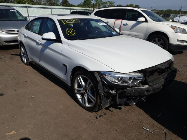 Salvage cars for sale from Copart Brookhaven, NY: 2017 BMW 440XI Gran Coupe