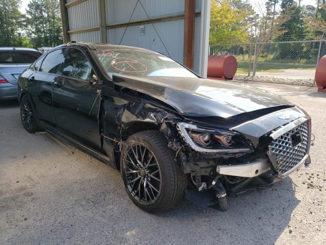 Genesis salvage cars for sale: 2018 Genesis G80 Sport