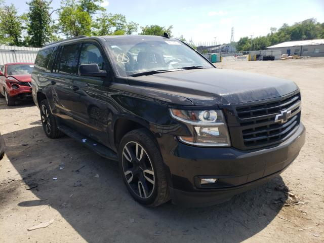 Salvage cars for sale from Copart West Mifflin, PA: 2019 Chevrolet Suburban K