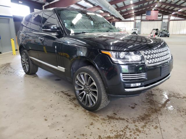 Salvage cars for sale at East Granby, CT auction: 2014 Land Rover Range Rover