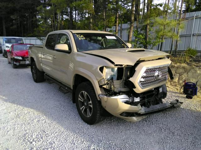 Salvage cars for sale from Copart Knightdale, NC: 2017 Toyota Tacoma DOU
