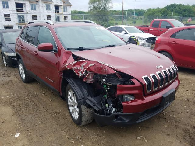 Salvage cars for sale from Copart Madison, WI: 2015 Jeep Cherokee L