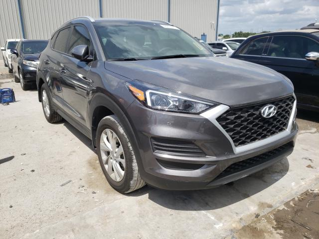 Salvage cars for sale from Copart Apopka, FL: 2020 Hyundai Tucson Limited