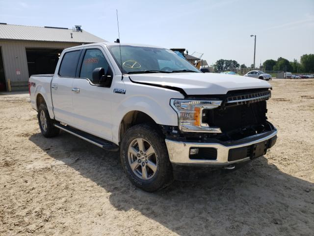 Salvage cars for sale from Copart Columbia, MO: 2019 Ford F150 Super