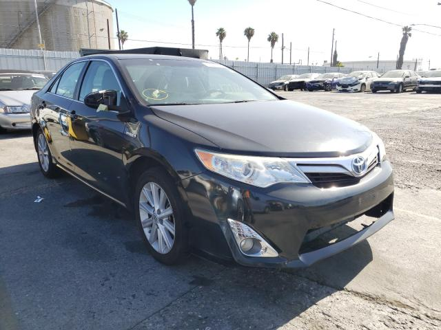 Salvage cars for sale from Copart Wilmington, CA: 2012 Toyota Camry Hybrid