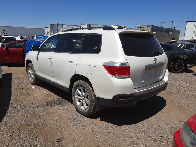 2012 Toyota Highlander 3.5L, VIN: 5TDZK3EH6CS******, аукцион: COPART, номер лота: 43798901
