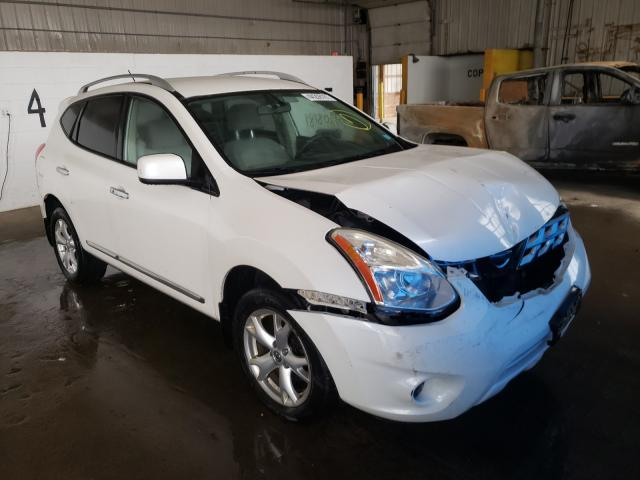 Salvage cars for sale at Candia, NH auction: 2011 Nissan Rogue S