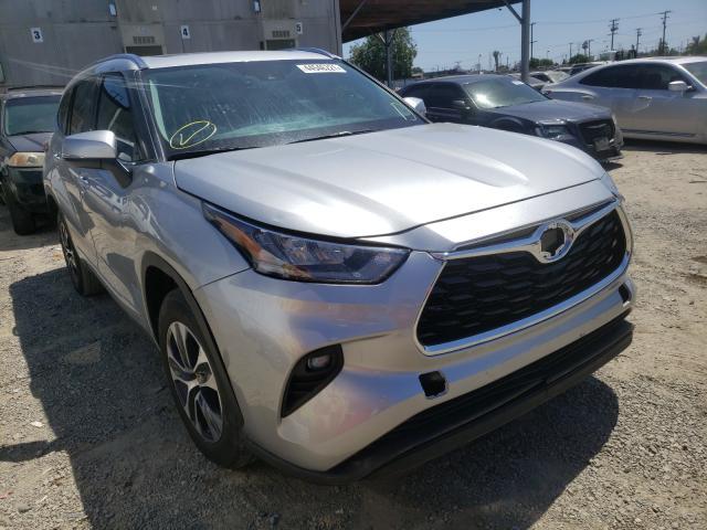 Carros híbridos a la venta en subasta: 2020 Toyota Highlander