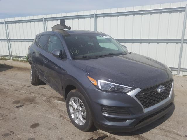 Salvage cars for sale from Copart Dyer, IN: 2019 Hyundai Tucson SE
