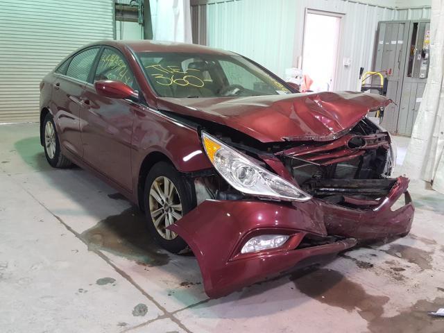 Vehiculos salvage en venta de Copart Leroy, NY: 2013 Hyundai Sonata GLS