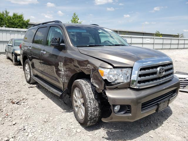 Salvage cars for sale from Copart Walton, KY: 2016 Toyota Sequoia PL