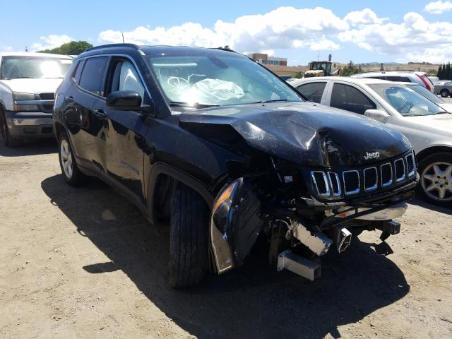 Salvage cars for sale from Copart San Martin, CA: 2020 Jeep Compass LA