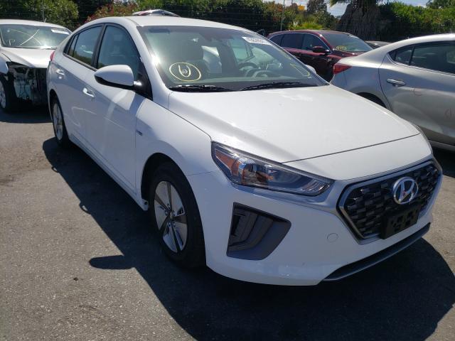 Salvage cars for sale from Copart San Martin, CA: 2020 Hyundai Ioniq Blue