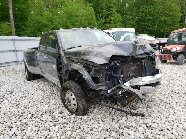 Salvage cars for sale from Copart West Warren, MA: 2014 Dodge 3500 Laram