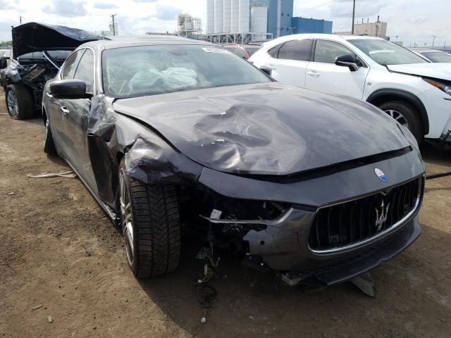 Maserati salvage cars for sale: 2014 Maserati Ghibli S