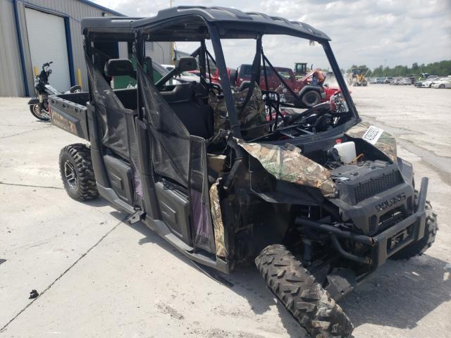 Salvage cars for sale from Copart Alorton, IL: 2018 Polaris Ranger CRE
