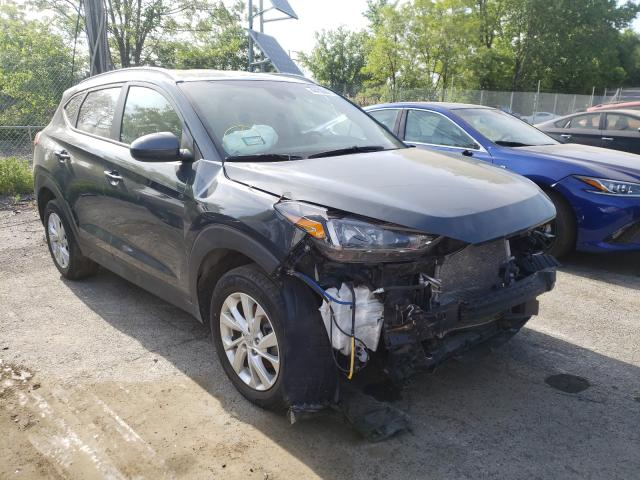 Salvage cars for sale from Copart Marlboro, NY: 2019 Hyundai Tucson Limited