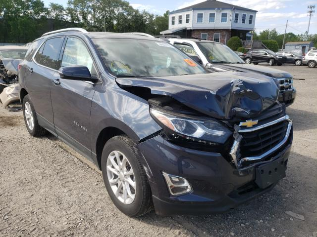 Salvage cars for sale from Copart North Billerica, MA: 2018 Chevrolet Equinox LT