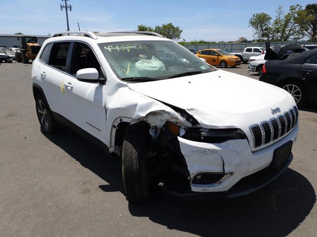 Jeep Vehiculos salvage en venta: 2019 Jeep Cherokee L