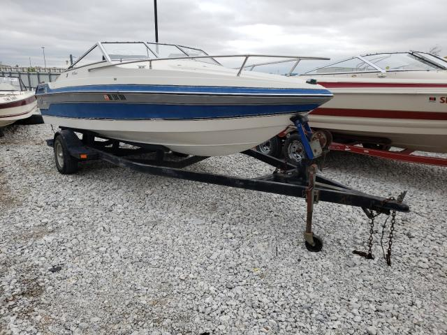 Salvage cars for sale from Copart Greenwood, NE: 1989 Wells Cargo Boat With Trailer