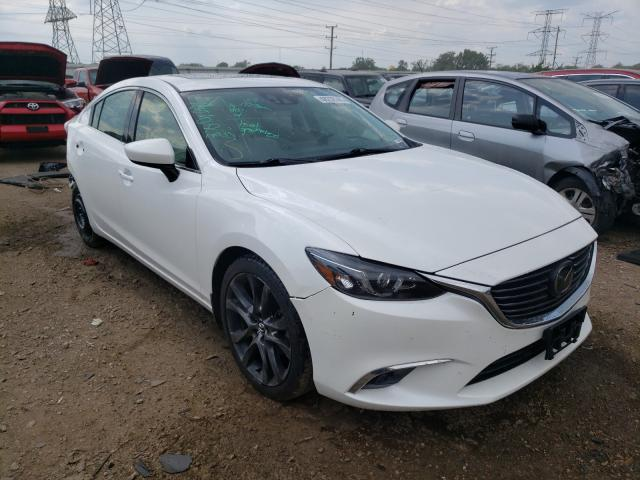 Salvage cars for sale at Elgin, IL auction: 2016 Mazda 6 Grand Touring