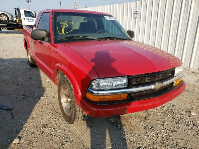 Salvage 2003 CHEVROLET S10 - Small image. Lot 44248631