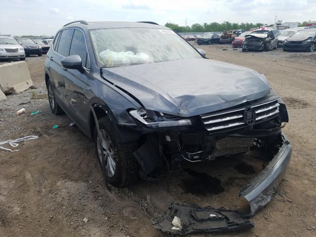 Volkswagen salvage cars for sale: 2019 Volkswagen Tiguan SE