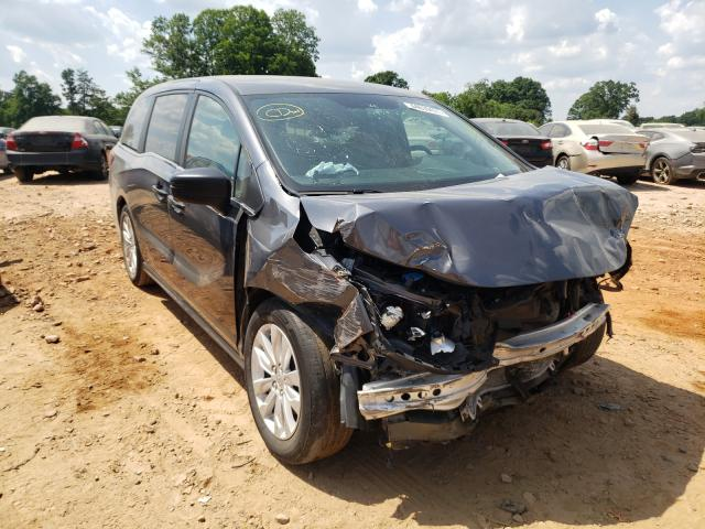 Salvage cars for sale from Copart China Grove, NC: 2019 Honda Odyssey LX