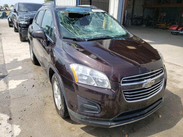 Salvage cars for sale from Copart Sikeston, MO: 2015 Chevrolet Trax 1LT